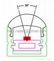 LED Lenses  profile with 30 degree,led aluminum profile