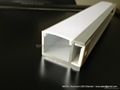 aluminum channel  with frosted diffuser ,led wall profile