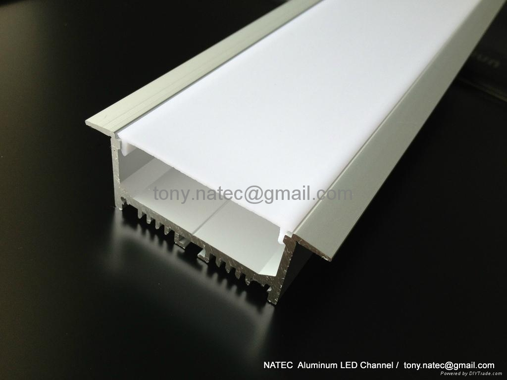 aluminium led profile for ceiling led track profiles. Black Bedroom Furniture Sets. Home Design Ideas