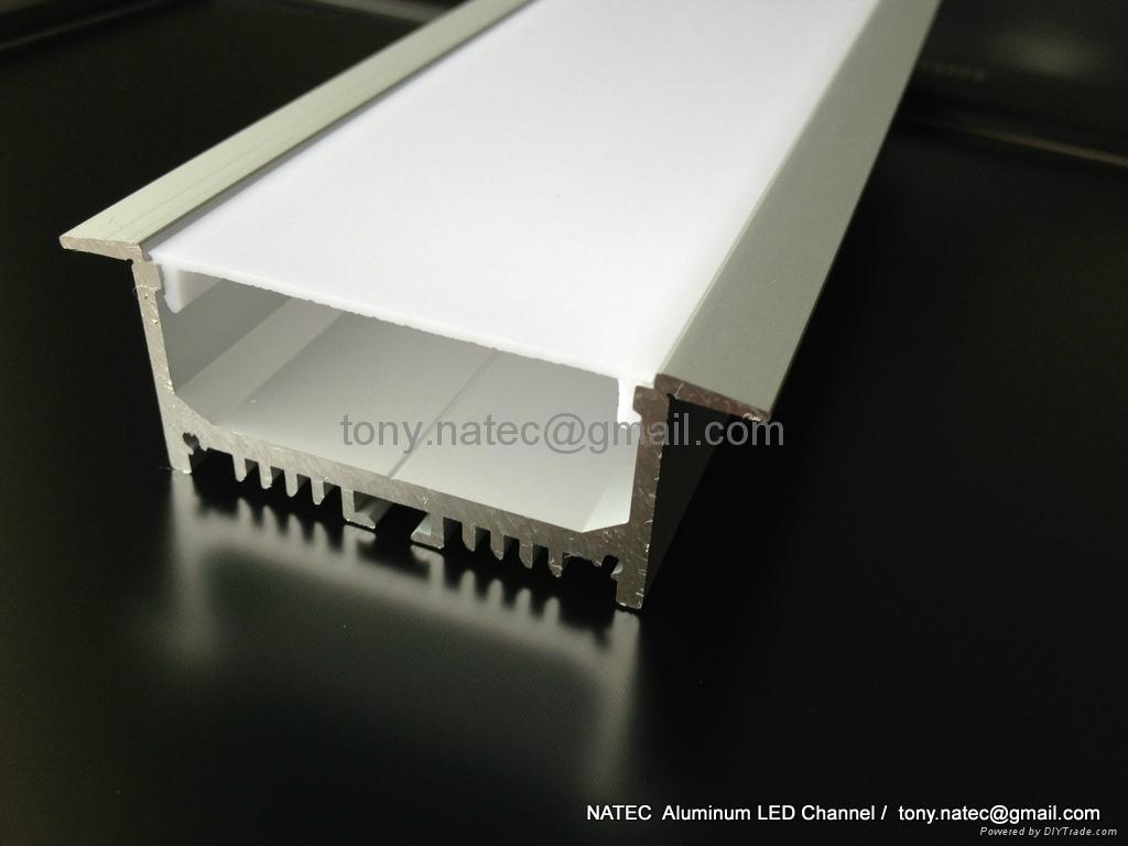 Aluminium Led Profile For Ceiling Led Track Profiles
