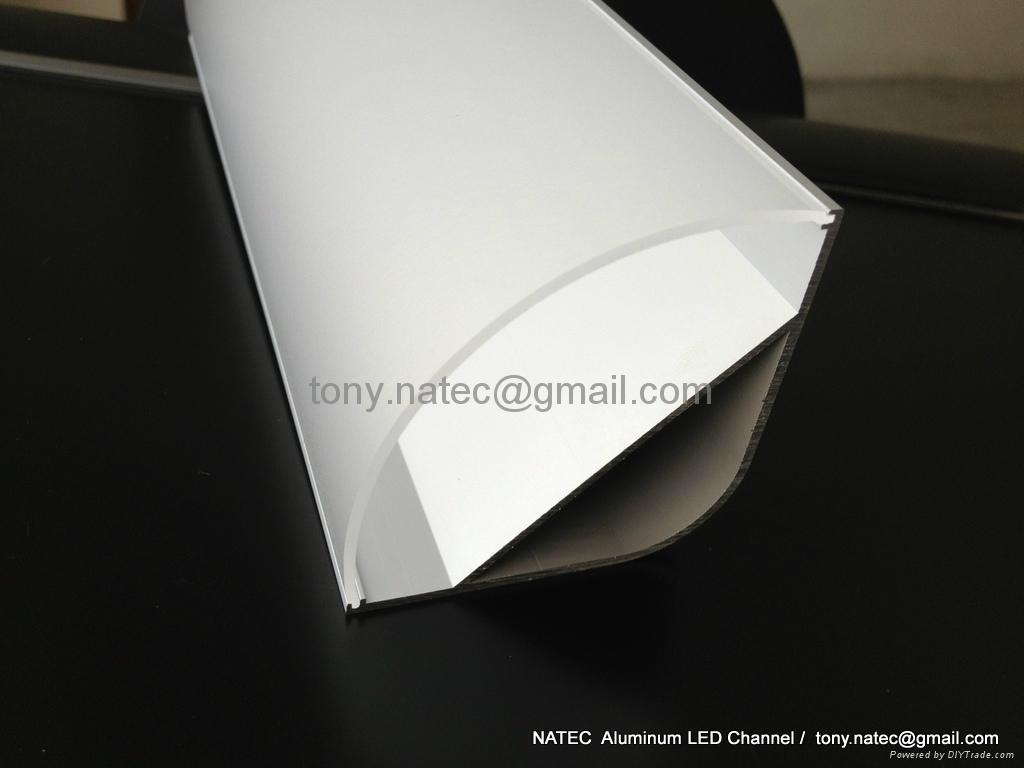 55x55mm led corner profile for wall solutions,led aluminum profile 3