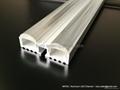 Double Lenses LED  profile with 60 degree,led Lens profile 2
