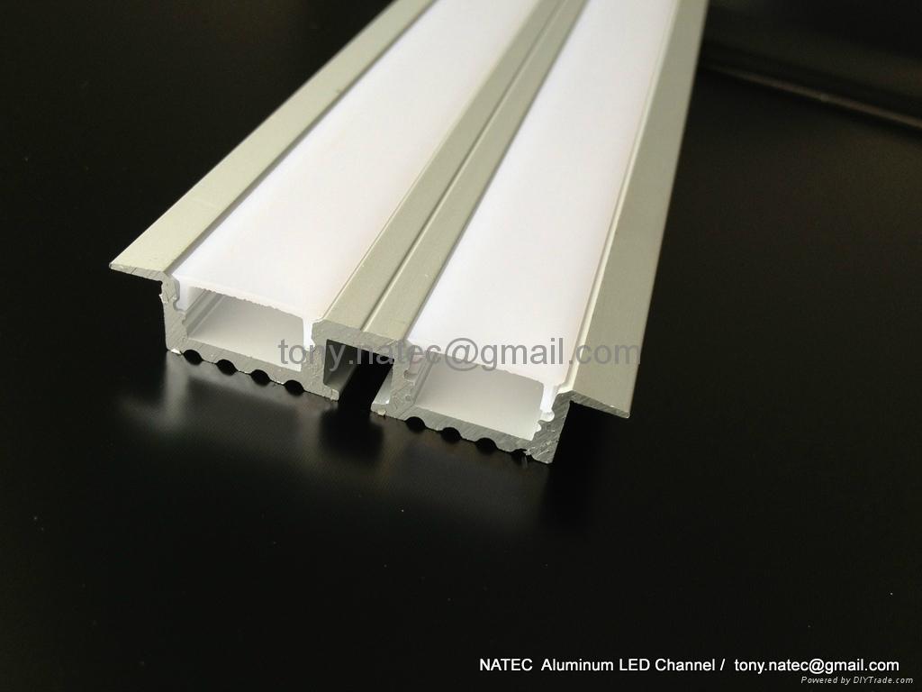 recessed aluminium profile,recessed ceiling light,Track Profile Recessed 1