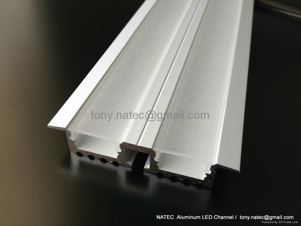 recessed aluminium profile,recessed ceiling light,Track Profile Recessed 2