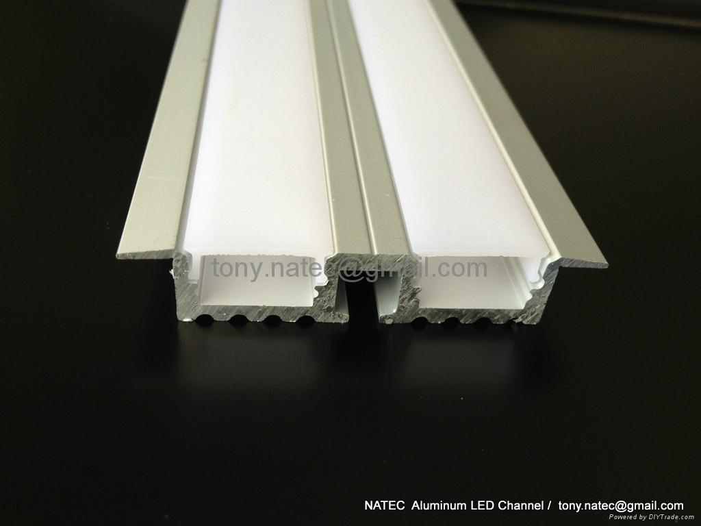 recessed aluminium profile,recessed ceiling light,Track Profile Recessed 4