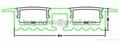 recessed aluminium profile,recessed ceiling light,Track Profile Recessed 5