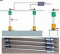 Power Supension System,suspension mounted Aluminum profile,,suspended wires  7