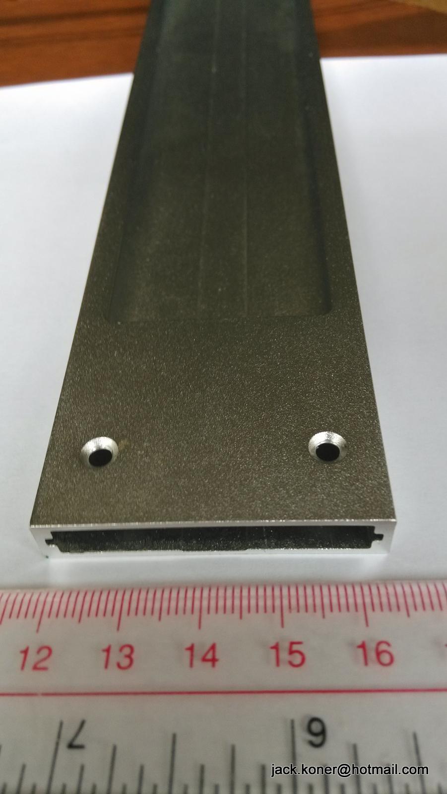 CNC turning;CNC machining,aluminum frame for led lighting box    4