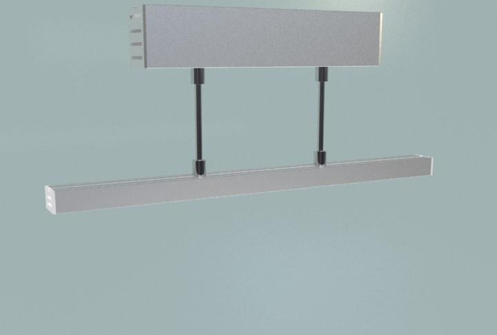 suspension mounted Aluminum led profile, led channel, led extrusion 1