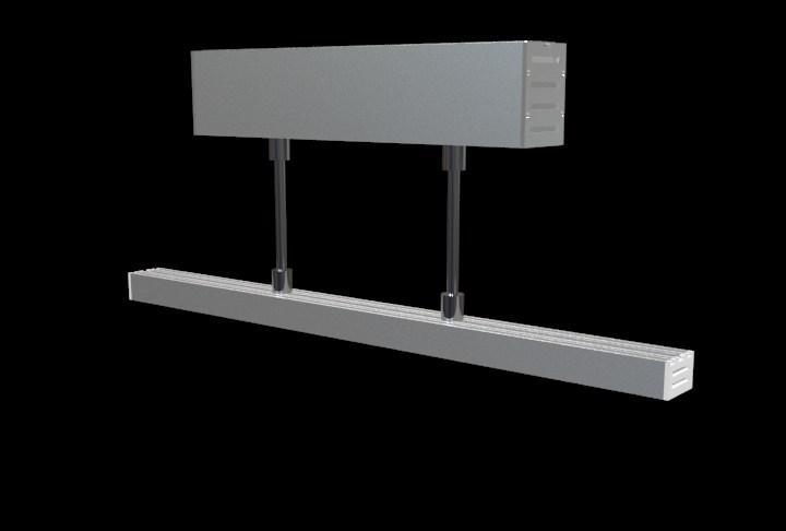 suspension mounted Aluminum led profile, led channel, led extrusion 3