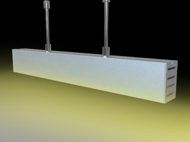suspension mounted Aluminum led profile, led channel, led extrusion 6