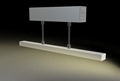 suspension mounted Aluminum led profile, led channel, led extrusion