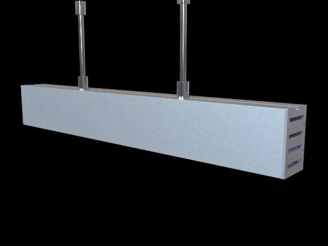 suspension mounted Aluminum led profile, led channel, led extrusion 9