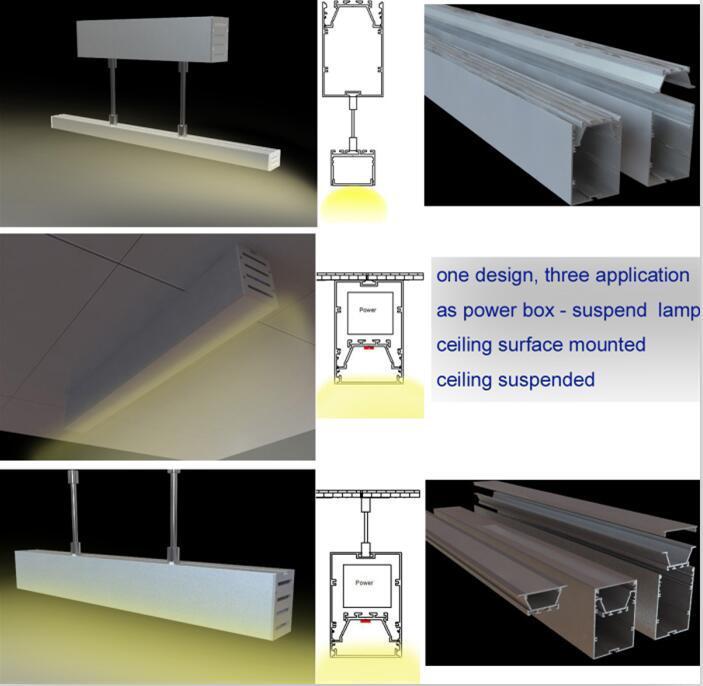 One design three application - power led profile 3