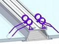 Recessed Ceiling Aluminum Profiles