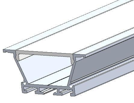 Recessed Ceiling Aluminum Profiles,aluminum led channel  3