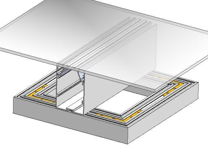 Surface Mounted Aluminum led  Profile,aluminum led channel 1
