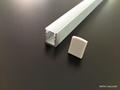 led strip aluminum extrusion, LED profile for shelves