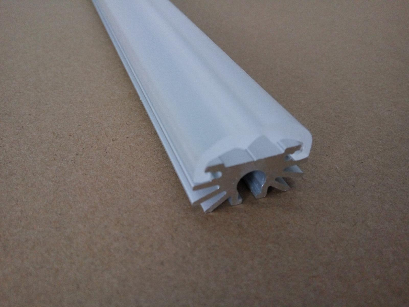 led Profile with frosted cover ,aluminum led channel 3