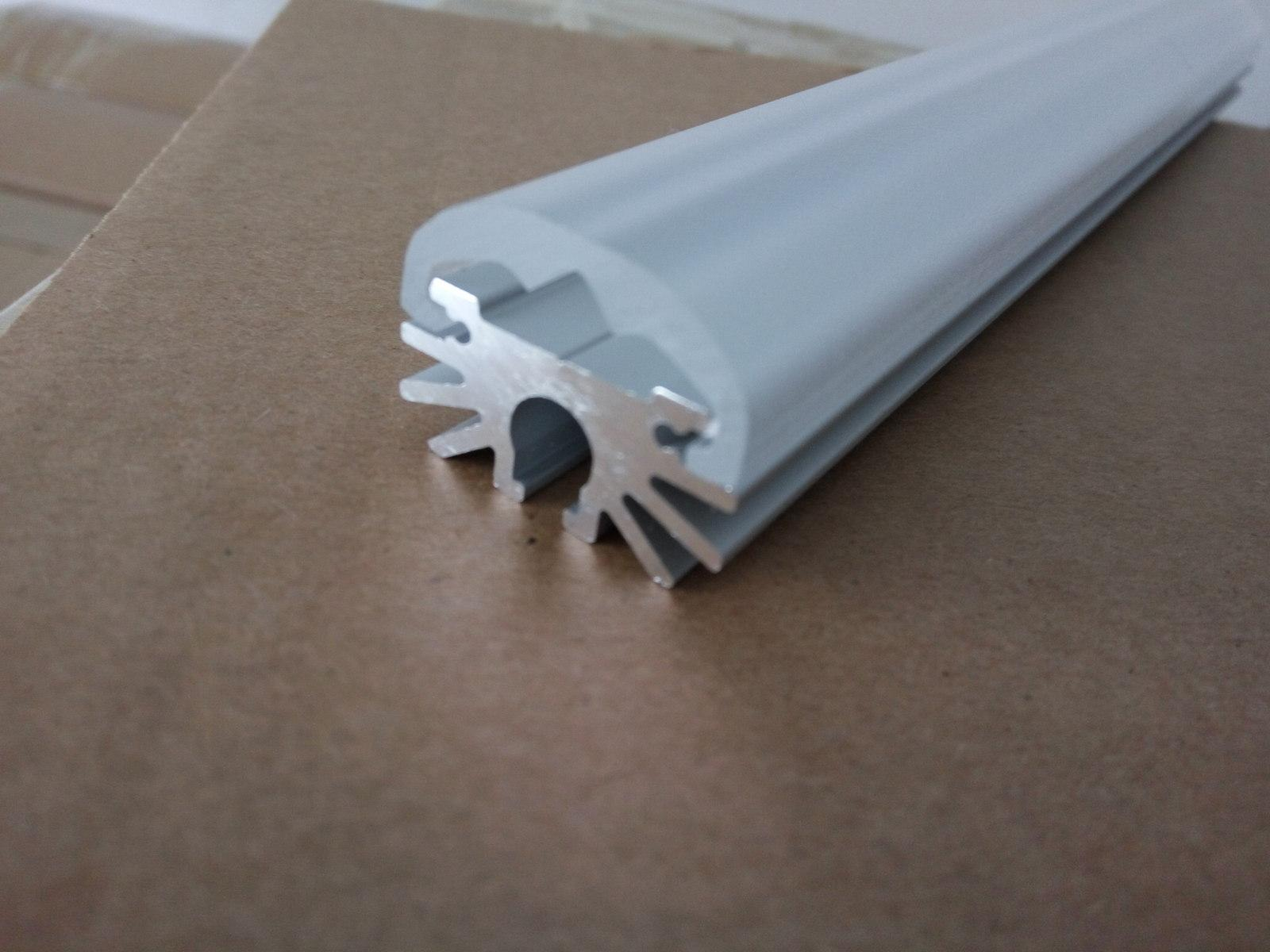 led Profile with frosted cover ,aluminum led channel 5