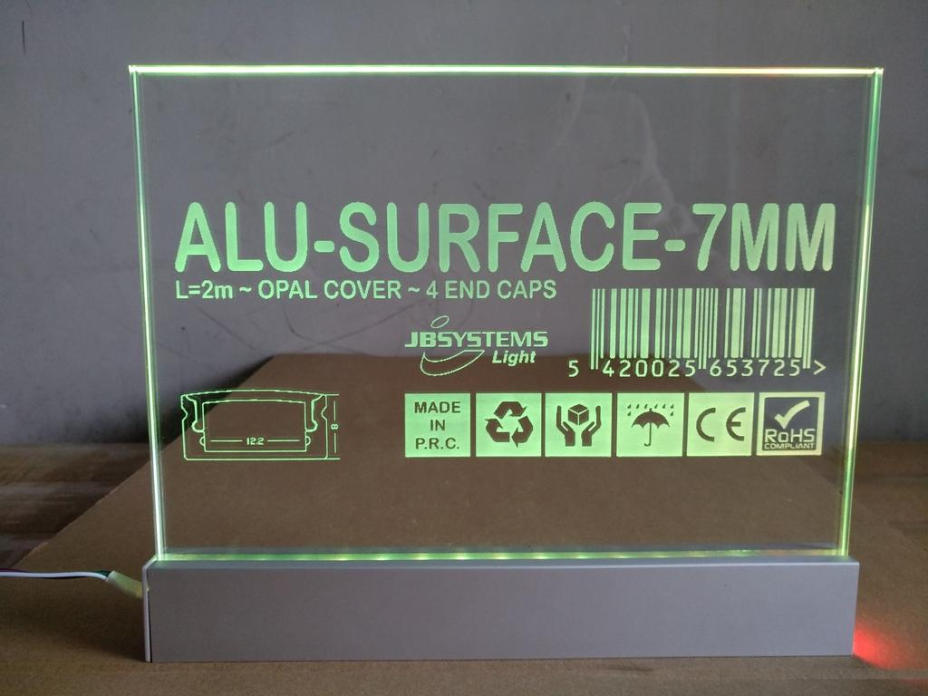 led edge lit Sign channel,led edgelit track, led edge lit base 1