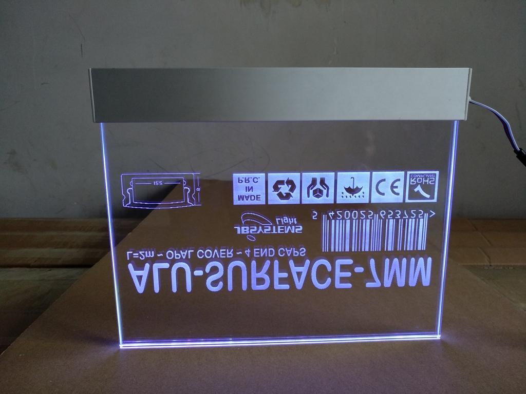 Aluminum Base for led signage  1