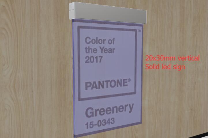 SOLED led Edge Lit Kit , LED Edge Lit Acrylic Sign