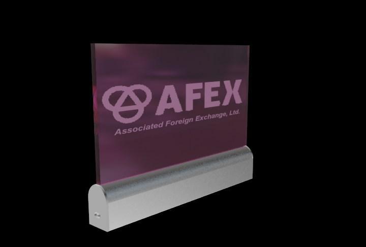 Edge-lit LED Sign,Acrylic Laser Engraved  4