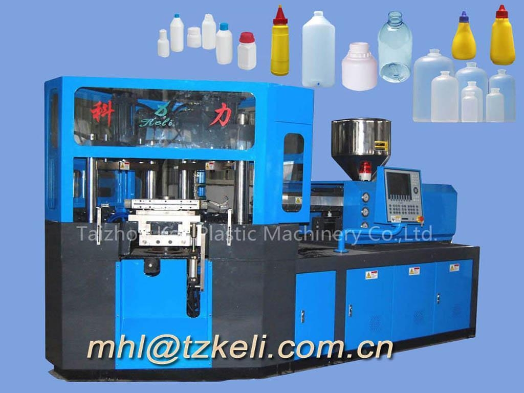 one stage 3 station injection blow molding machine
