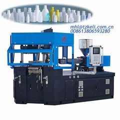 China one step eye dropper bottle injection blow moulding machine