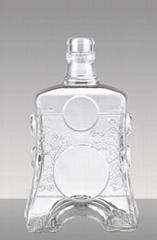 晶质玻璃酒瓶