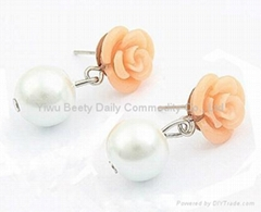 Fashion Rose Ear Ring (CG250)