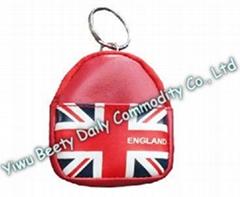 Backpack Coin Holder & Keychain Flag Design