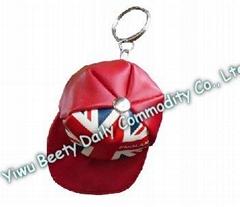 Cap Hat Coin Holder & Keychain Flag Design