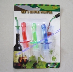 Plastic Bottle Stopper a