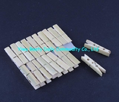 20PK Natural Bamboo Clothes Pegs Pins (CG120)