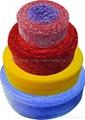 Plastic Mesh for making Pot Scourers