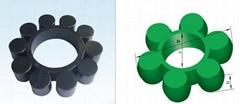 傳動軸-梅花型彈性聯軸器緩衝墊