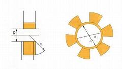 水泵用爪型弹性联轴器缓冲垫