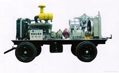 3立方150公斤壓力柴油移動式空氣壓縮機