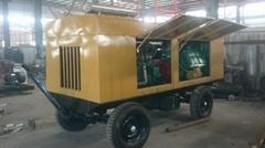 10立方40公斤压力柴油移动式空气压缩机