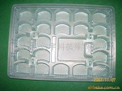 White PP permanent anti-static blister