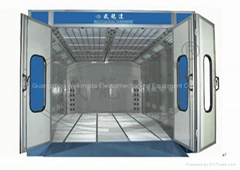 Water Painting Solution Spray Booth - WLD8400 (Standard Type)