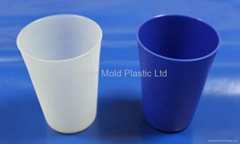 Food level PP Plastic Cups Injection Mold