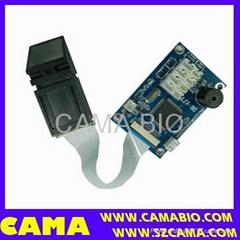 Fingerprint safe box module with sensor