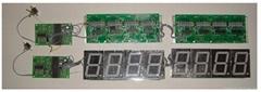 RS232串口控制LED数码管电子显示系统