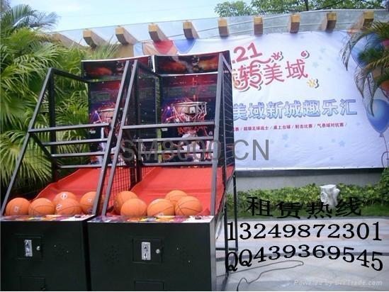 東莞籃球機遊樂設備出租 1