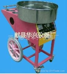 豪華拉絲型棉花糖機