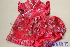 儿童旗袍唐裝 童禮服