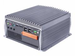 小型無風扇工控機擴展PCIE/2LAN/6COM/8USB